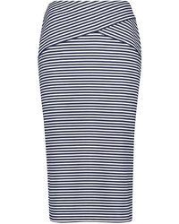 Gerry Weber - Striped Skirt - Lyst