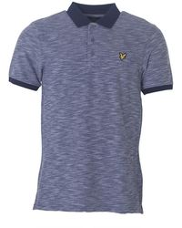 Lyle & Scott - Oxford Slub Polo Shirt - Lyst