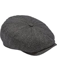 Ted Baker Wool Flat Cap in Green for Men - Lyst 2c8059ffe6bc