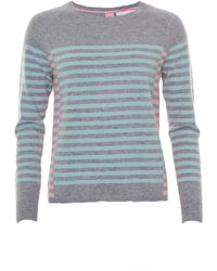 Cocoa Cashmere - Pastel Striped Knit - Lyst