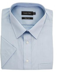 Double Two - Short Sleeved Shirt - Lyst
