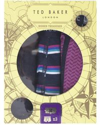 Ted Baker - Debden Printed Boxer Shorts - Lyst
