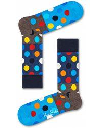 Happy Socks Big Dot Block Socks