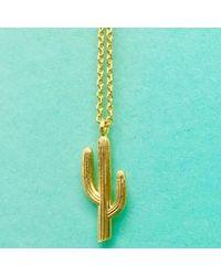 Estella Bartlett - Cactus Necklace - Lyst