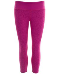 Asics - 3/4 Length Graphic Fitness Tight - Lyst