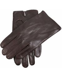 Dents - Fleece Lined Leather Gloves - Lyst