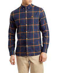 Lyle & Scott - Check Flannel Shirt - Lyst