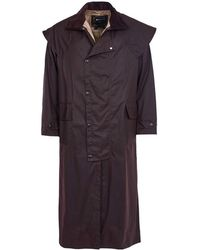 Barbour - Waxed Stockman Coat - Lyst