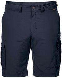 Jack Wolfskin Canyon Cargo Shorts - Blue