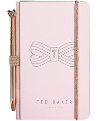Ted Baker - Mini Notebook & Pen Set - Lyst