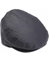 99cd7b7c5cdc0 Baracuta Men s Made In England Oilskin Wax Bucket Hat in Blue for ...
