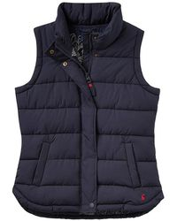 Joules - Eastleigh Padded Gilet - Lyst
