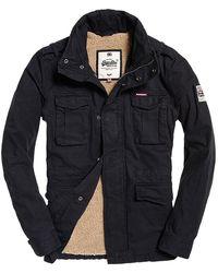 Superdry - Rookie Heavy Weather Field Jacket - Lyst