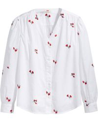 Levi's - Spaced Poppy Shirt - Lyst