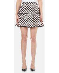 KENZO - Women's Post It Jacquard Skirt - Lyst