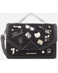 Karl Lagerfeld - Women's K/klassik Pins Shoulder Bag - Lyst