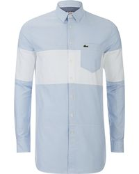 Lacoste L!ive - Men's Long Sleeve Shirt - Lyst