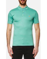 Polo Ralph Lauren - Polo Shirt Ralph Lauren Men's Pima Cotton Slim Fit Polo Shirt - Lyst