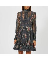 Zimmermann - Unbridled Tucked Dress - Lyst