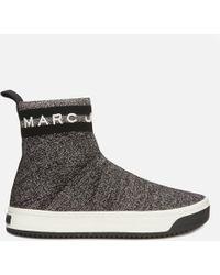 Marc Jacobs Logo Dart Sock Sneakers