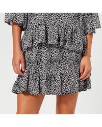 MICHAEL Michael Kors - Women's Wavy Leopard Skirt - Lyst