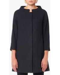 Herno | Women's Long Woven Coat | Lyst