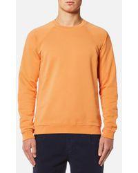 Folk - Men's Raglan Sweatshirt - Lyst
