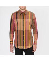 Vivienne Westwood - Men's Rug Stripes Classic Shirt - Lyst