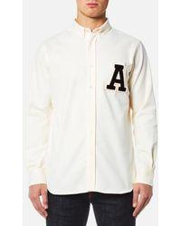 AMI - Men's A' Patch Shirt - Lyst
