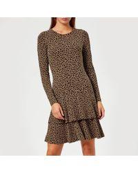 MICHAEL Michael Kors - Women's The Flounce Dress - Lyst