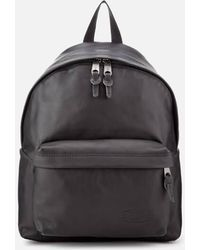 Eastpak - Men's Authentic Leather Padded Pak'r Backpack - Lyst