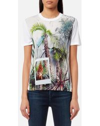 PS by Paul Smith - Women's Jungle Tshirt - Lyst