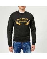 DSquared² - Dean Fit Logo Sweatshirt - Lyst