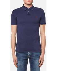 Polo Ralph Lauren - Men's Weathered Mesh Short Sleeve Polo Shirt - Lyst