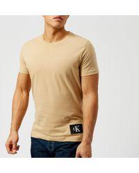Calvin Klein Jeans - Men's Takoda Patch Logo Crew Neck Tshirt - Lyst