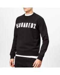 DSquared² - Logo Sweatshirt - Lyst
