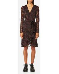 Ganni - Women's Flynn Lace Dress - Lyst