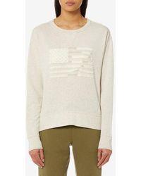 Polo Ralph Lauren - Women's Flag Sweatshirt - Lyst