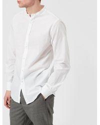 Officine Generale Officine Générale Gaspard Garment Dye Cotton Shirt