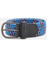 Andersons - Anderson's Men's Woven Fabric Belt - Lyst