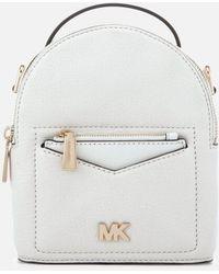 3086b5baa1b7 MICHAEL Michael Kors - Women s Jessa Extra Small Convertible Backpack - Lyst