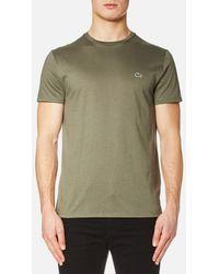 Lacoste   Men's Basic Crew Neck Tshirt   Lyst