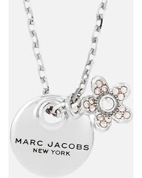 Marc Jacobs - Women's Mj Coin Crystal Pendant - Lyst