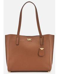MICHAEL Michael Kors - Women's Ana Medium East West Bonded Tote Bag - Lyst