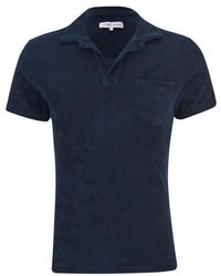 Orlebar Brown - Men's Terry Towelling Polo Shirt - Lyst