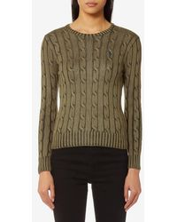 Polo Ralph Lauren - Women's Julianna Crew Neck Jumper - Lyst