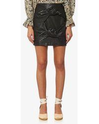 Isabel Marant - Etoile Women's Gritanny Leather Skirt - Lyst