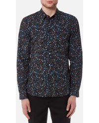 PS by Paul Smith - Men's Tailored Fit Floral Shirt - Lyst