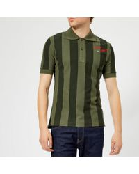 Vivienne Westwood - Men's Goumier Stripe Polo Shirt - Lyst