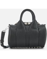 Alexander Wang - Women's Mini Rockie Studded Pebble Leather Bag - Lyst